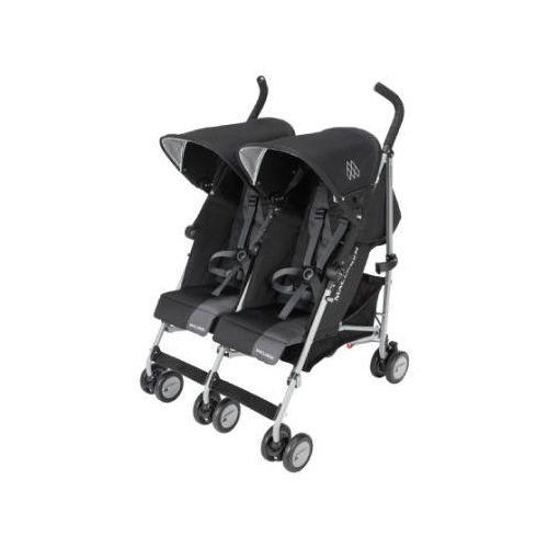wózek podwójny twin triumph black/charcoal marki Maclaren