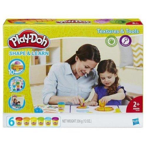 Play Doh Ciastolina Faktury i narzędzia