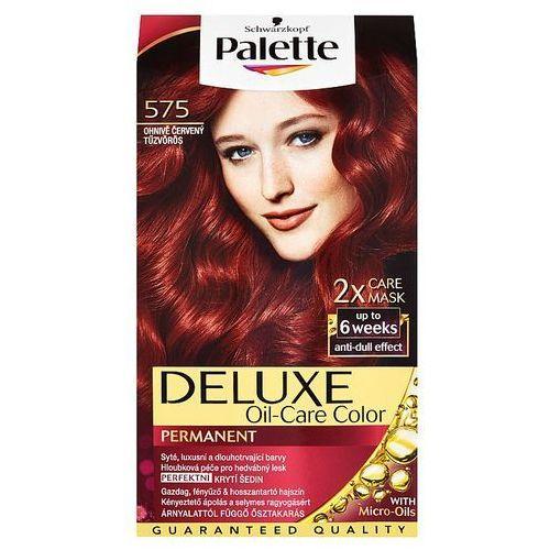 Schwarzkopf Palette deluxe farba do włosów intensywna czerwień nr 575 1 op. -