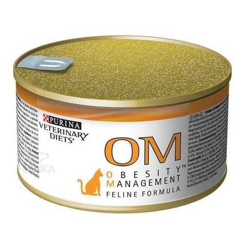 Purina Cat Veterinary Diets OM Obesity Management 195g puszka