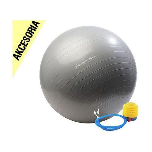Piłka gimnastyczna do ćwiczeń fitness + pompka bushido akcesoria marki Kelton
