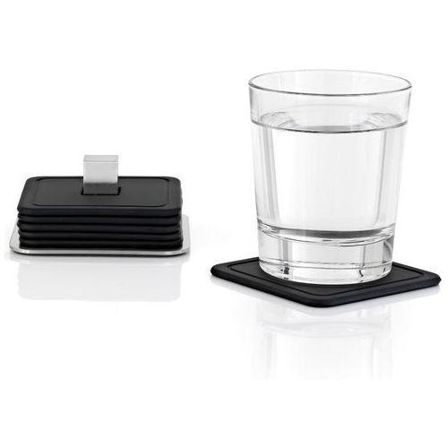 - trayan - zestaw 6 silikonowych podstawek pod szklanki marki Blomus