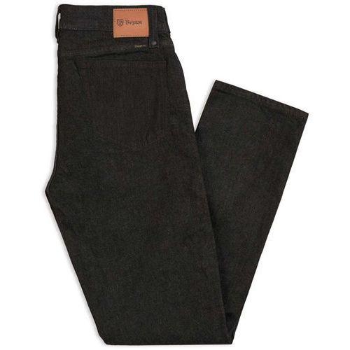 spodnie BRIXTON - Reserve 5-Pkt Denim Pant Black (BLACK) rozmiar: 34X32, kolor czarny