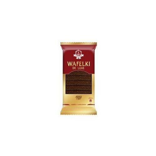 Wafle de luxe w czekoladzie z kremem kakaowym 220g  marki Skawa