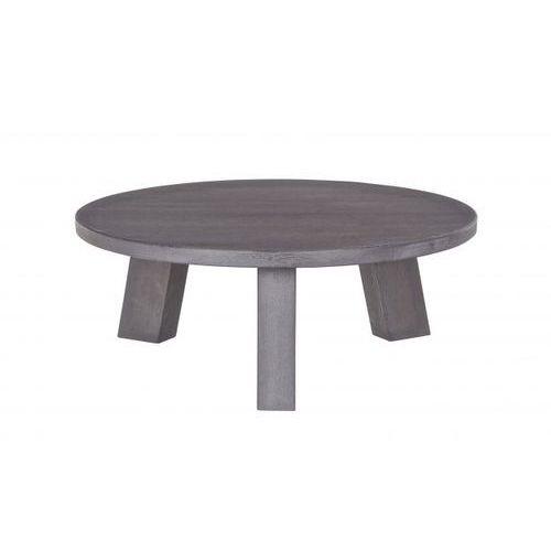 stół rhonda czarna noc r80cm 375480-bn marki Woood