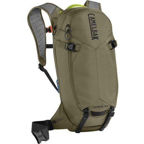 CamelBak T.O.R.O. Protector 14 Plecak oliwkowy 2018 Plecaki rowerowe (0886798010380)