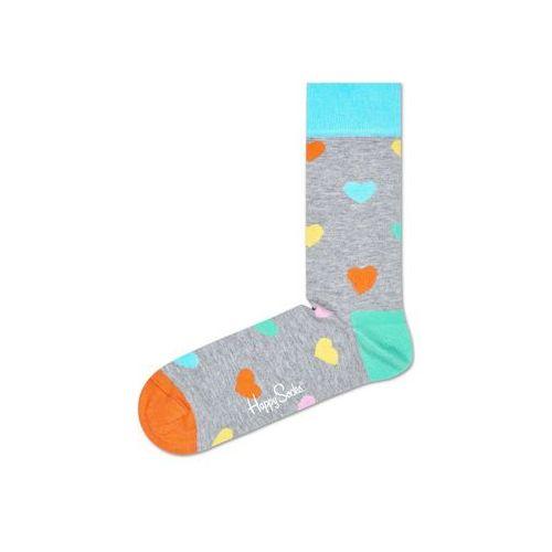 Happy Socks Heart Skarpetki Szary Wielokolorowy 36-40