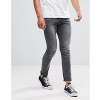 skinny fit jeans in grey - grey, Tom tailor