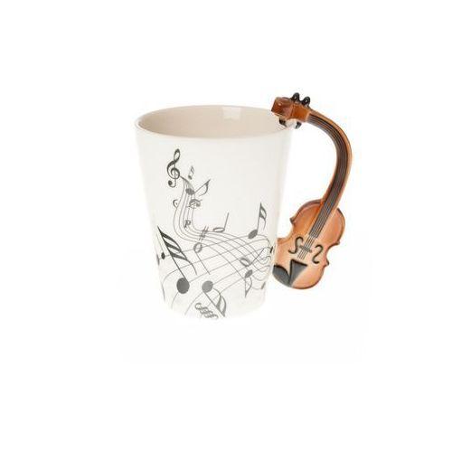 Home Kubek porcelanowy ze skrzypcami prezent dla muzyka