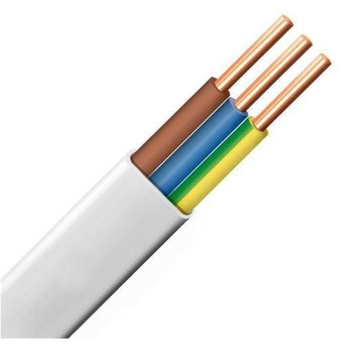 Kable i przewody wyprodukowane w ue Przewód instalacyjny płaski ydyp 3x1,5 450/750v