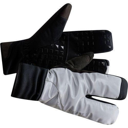 Craft siberian glow rękawiczki rowerowe, silver/black s | 8 2019 rękawiczki zimowe