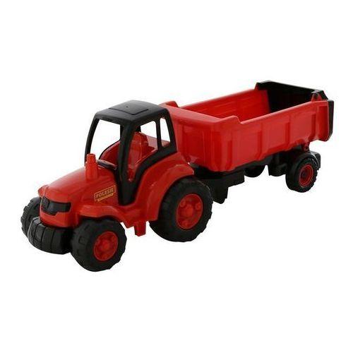 Mistrz traktor z naczepą