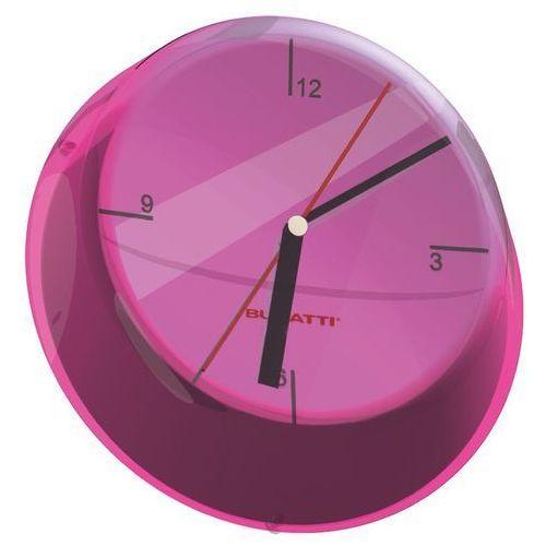 - glamour zegar ścienny, fioletowy marki Bugatti