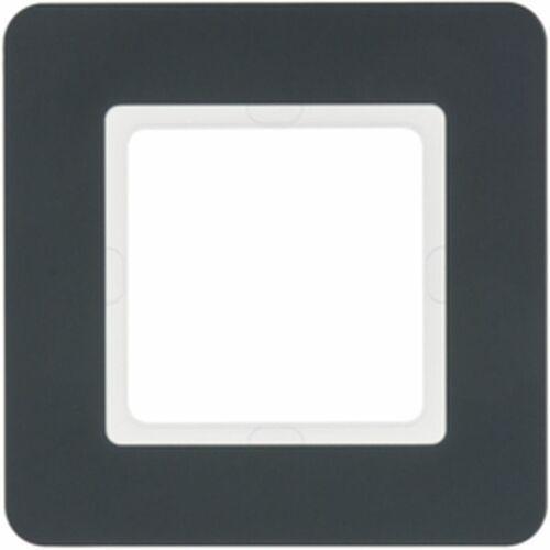Ramka 1-krotna antracyt aksamit lakierowany Q.7 10116186