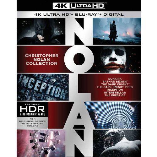 Christopher nolan - kolekcja filmów w 4k (7bd 4k, 14bd) (płyta bluray) marki Galapagos