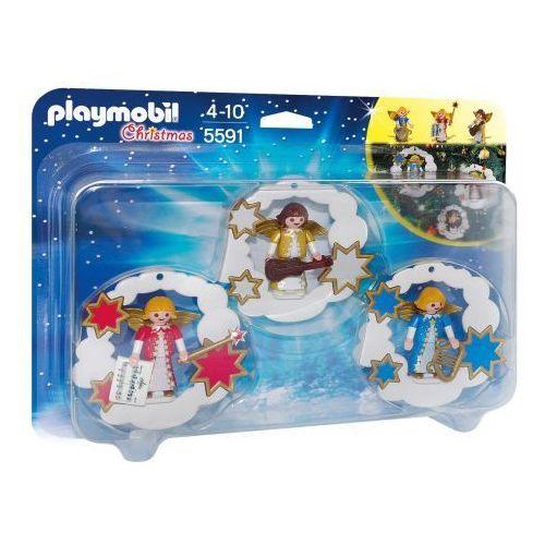 Playmobil CHRISTMAS Dekoracja świąteczna aniołki 5591 - BEZPŁATNY ODBIÓR: WROCŁAW!