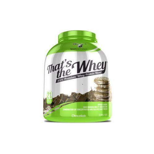 SPORT DEFINITION That's The Whey 2270g, towar z kategorii: Odżywki zwiększające masę
