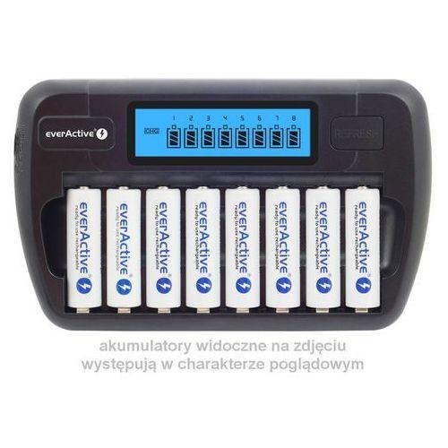 Ładowarka everActive NC-800 8 niezależnych kanałów z kategorii Ładowarki do akumulatorów