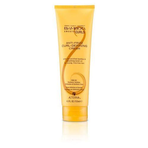 bamboo smooth curls defining cream | wygładzający krem do loków 133ml marki Alterna