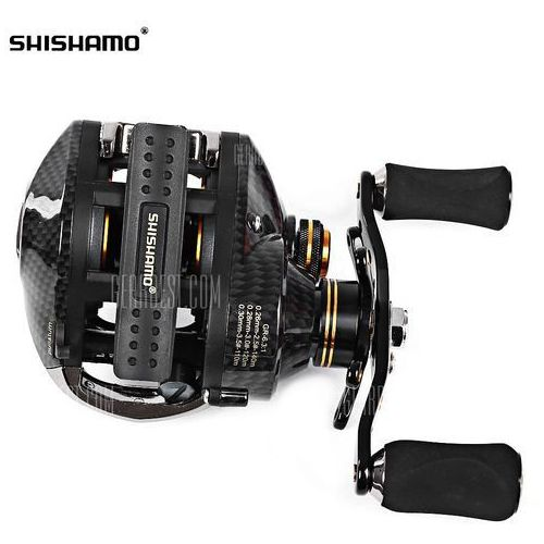 Shishamo lb200 gt 6.3:1 / 7.0:1 18bb left hand right hand baitcasting reel wyprodukowany przez Gearbest