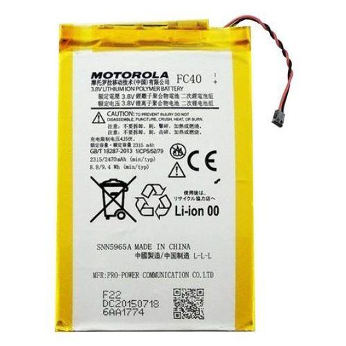fc40 2315mah 8.8wh li-polymer 3.8v (oryginalny) marki Motorola