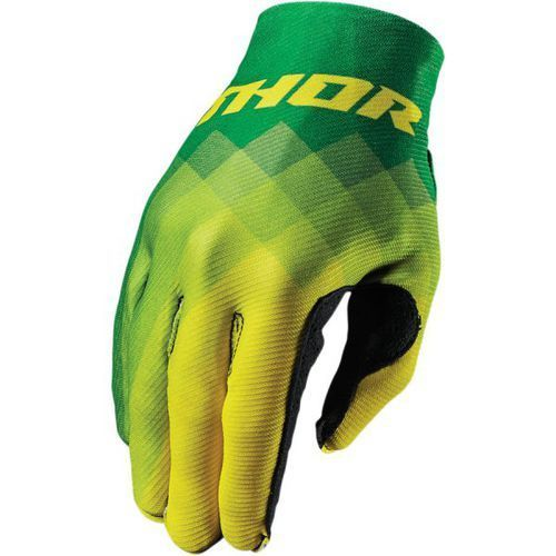 THOR RĘKAWICE INVERT PIX S7 OFFROAD GREEN/YELLOW=$