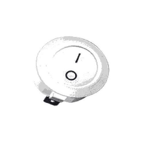 Wyłącznik okrągły kołyskowy r13 6a 230v biały ao-wyl-k-w-2-00-00-01 marki Skoff sp. z o.o.