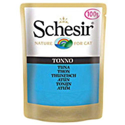 Schesir tuńczyk z kurczakiem - saszetka 100g