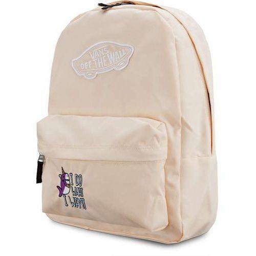 Vans Plecak wm realm backpack bleached unishark unishark