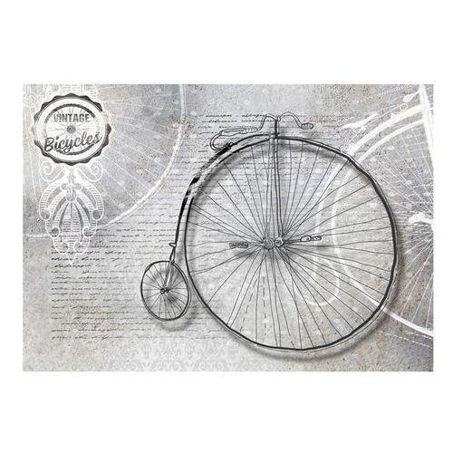 Fototapeta - vintage bicycles - black and white marki Artgeist