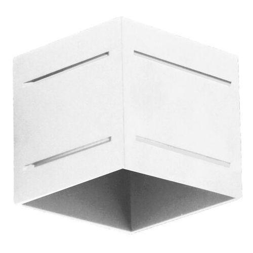 Lampex Kinkiet quado pro plus a biały (5902622119823)