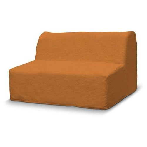 Dekoria Pokrowiec na sofę Lycksele prosty, pomarańczowy szenil, sofa Lycksele, Living