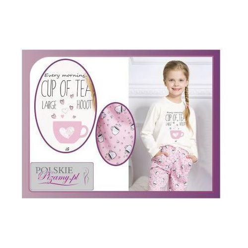 Piżama dziecięca SARA: róż, kolor różowy
