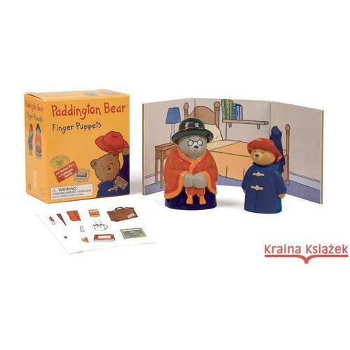 Paddington Bear: Finger Puppets [With Sticker(s) and Finger Puppets and Backdrop]