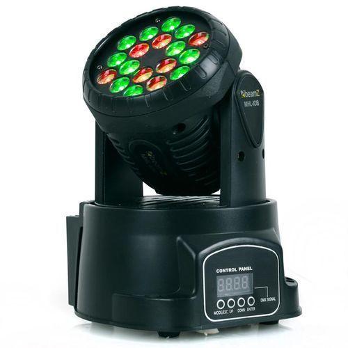 Beamz LED-108 Movinghead RGB 12/4- kanałów DMX
