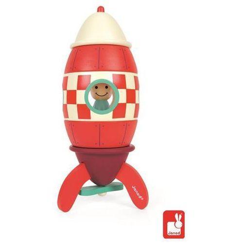Janod  drewniana rakieta magnetyczna - duża