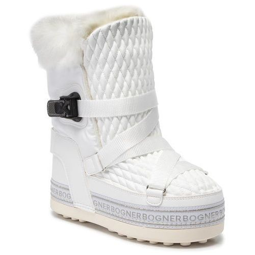 Śniegowce BOGNER - New Tignes 8 393-2114 White Go 10