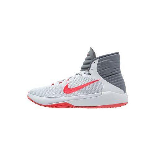 Nike Performance PRIME HYPE DF 2016 Obuwie do koszykówki wolf grey/university red/dark grey z kategorii koszykówka