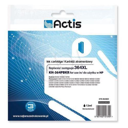 Actis KH-364PBKR tusz foto czarny do drukarki HP (zamiennik HP 364XL CB322EE) Standard- wysyłka dziś do godz.18:30. wysyłamy jak na wczoraj! (5901452157340)