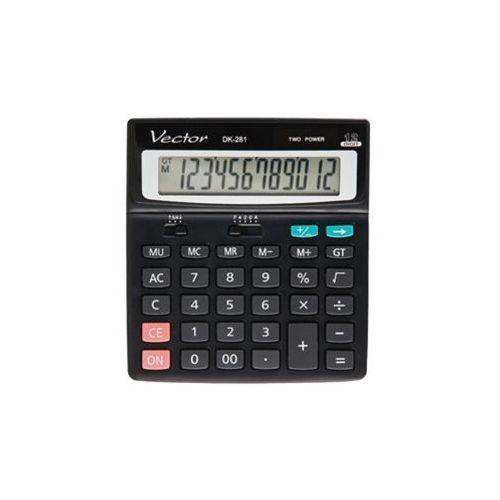 Kalkulator  dk-281 blk marki Vector
