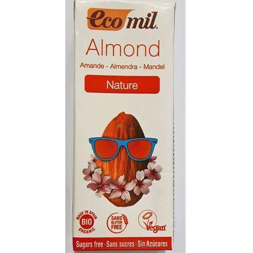 Ecomil Napój, mleko migdałowe bez cukru bio 200 ml (8428532230108)