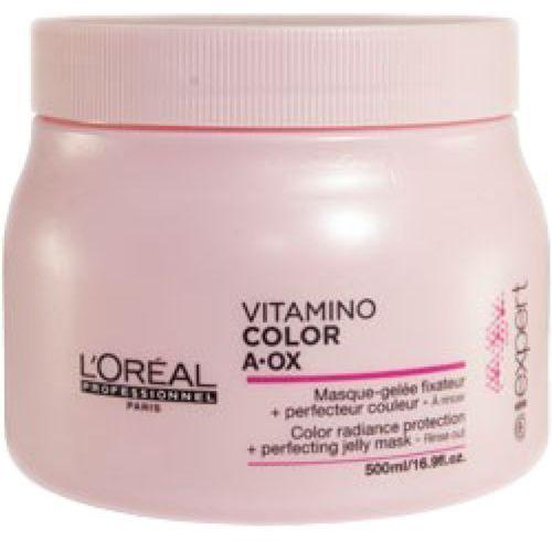L'Oreal VITAMINO COLOR MASQUE Maska przedłużająca trwałość koloru (500 ML)