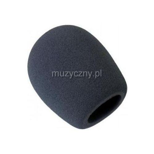 Akmuz ws-5 gąbka na mikrofon, czarna