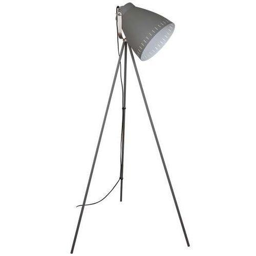 Italux Stojąca lampa podłogowa franklin ml-hn3068-gr+s.nick sztalugowa oprawa reflektor sztalugowy na trójnogu szary (5900644435167)