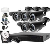 Ivelset Zestaw do monitoringu: rejestrator lv-xvr84s, 5 x kamera lv-al20ht, 1tb, akcesoria