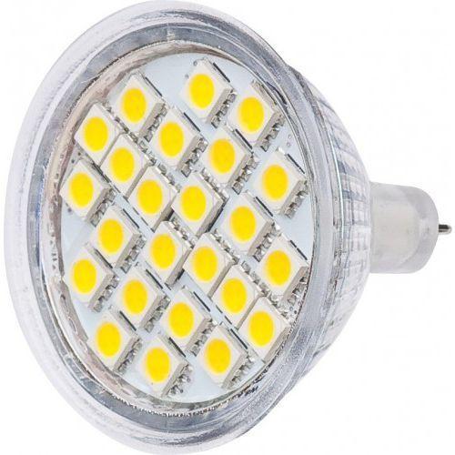 TB Energy Żarówka LED MR16 24x5050 SMD 4.7W 12V 320Lm zimna biała Darmowy odbiór w 19 miastach!