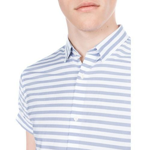 Jack & Jones Elverson Shirt Niebieski Biały XXL, 1 rozmiar