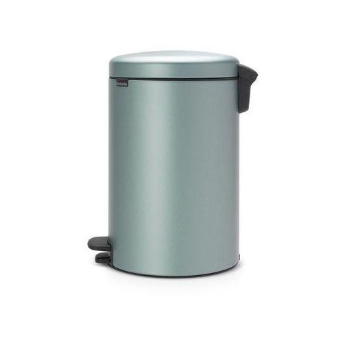 Brabantia Kosz na śmieci pedałowy newicon 20l metaliczny miętowy (8710755114120)