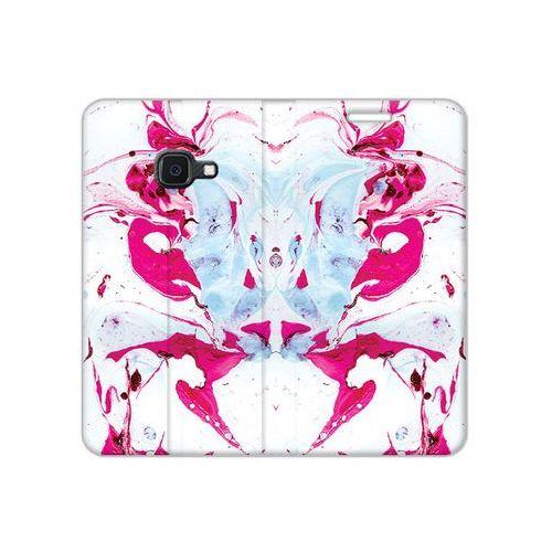 Etuo flex book fantastic Samsung galaxy xcover 4s - etui na telefon flex book fantastic - różowy marmur