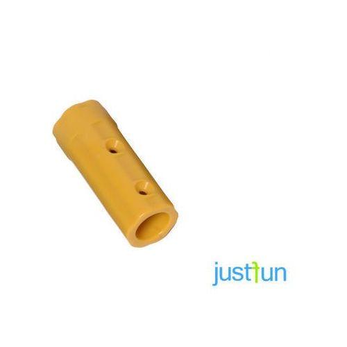 Łącznik do liny z gwintem - żółty